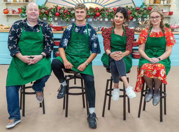 The Great Christmas Bake Off 2020 contestants