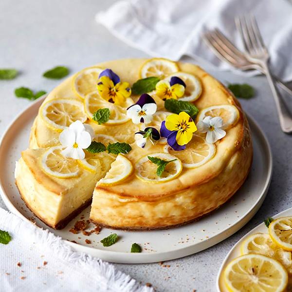 Ultimate Baked Lemon Cheesecake