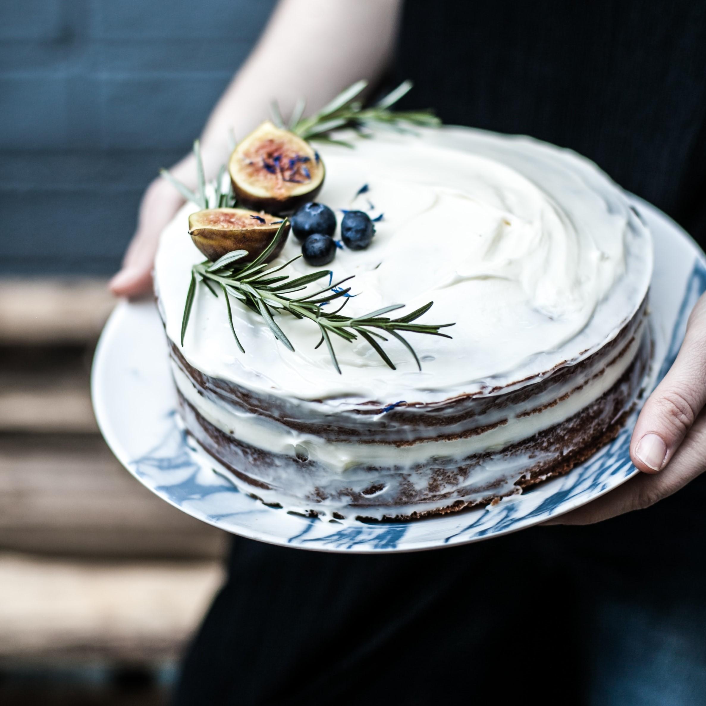 vegan cake topping