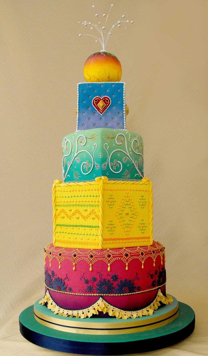 bollywood_wedding_cake_by_louise_art-d31hkjt