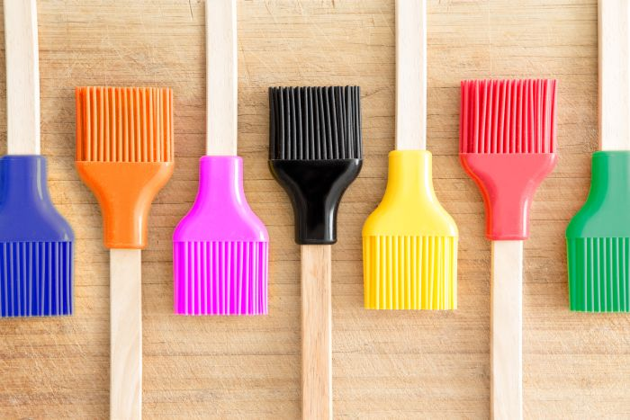 Siliconr brushes
