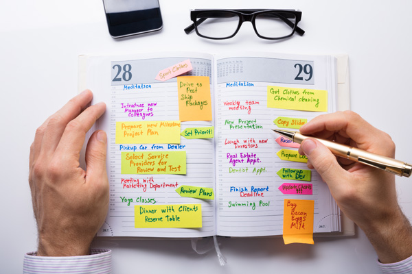 diary time management