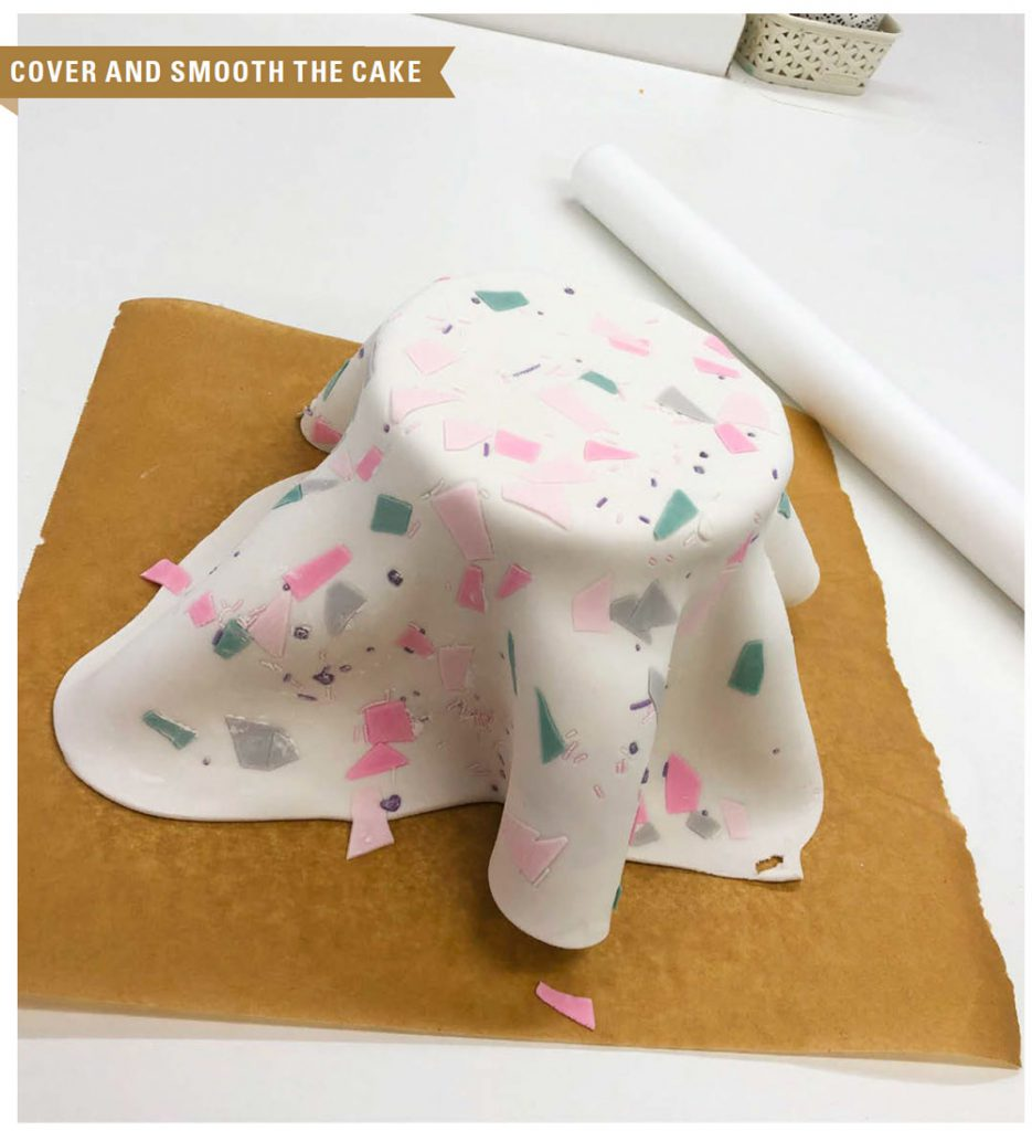 Terrazzo Cake