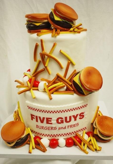 Fast Food Cakes - Food Heaven