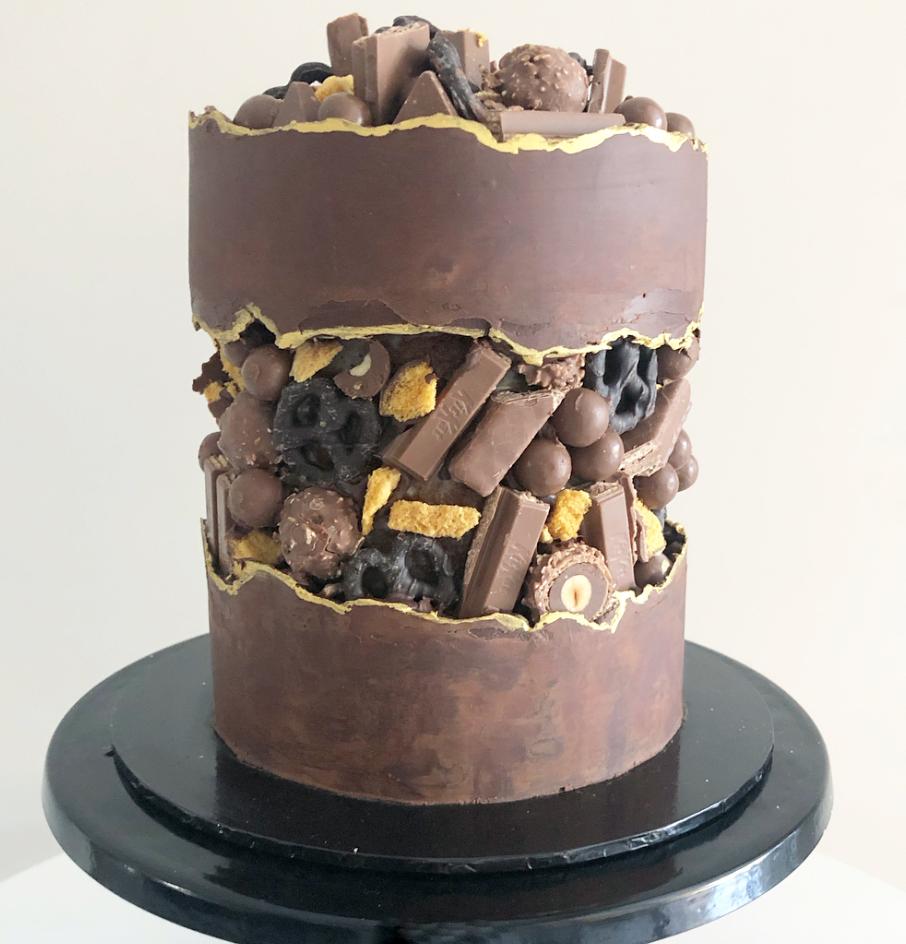 fault line cake 8