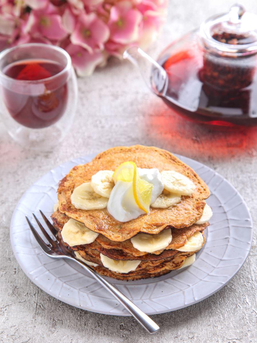 Sweet Potato and Banana Pancakes