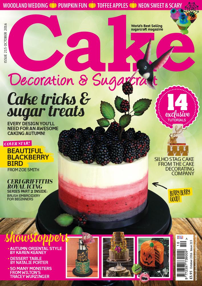 Cake Decoration & Sugarcraft October 2016