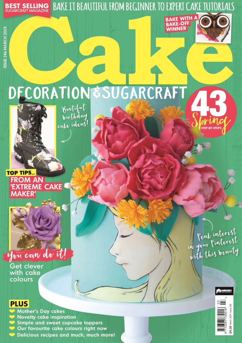 Cake Decoration & Sugarcraft March 2019 front cover
