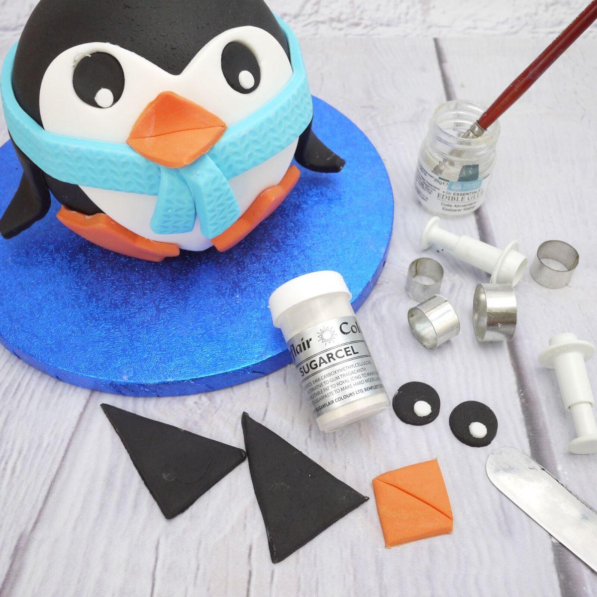 Penguin cake step 5