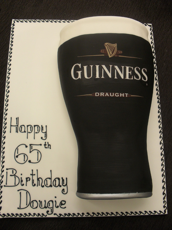 Pint of Guinness Cake - Food Heaven Mag