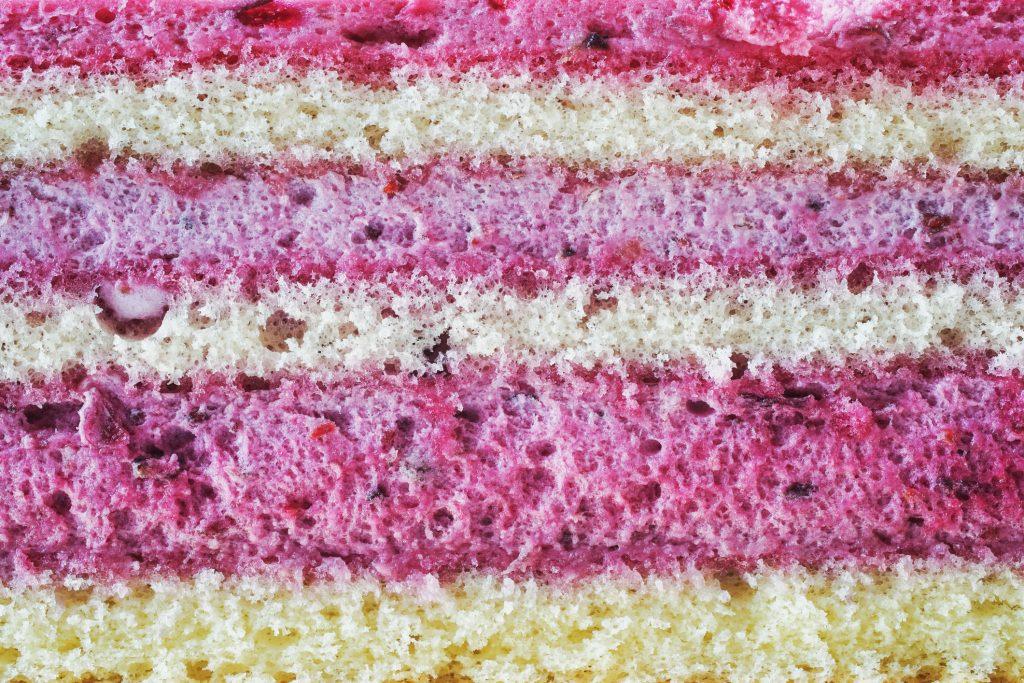 blueberry layer cake background
