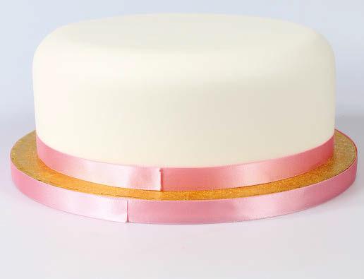 Ribbon on cake 2