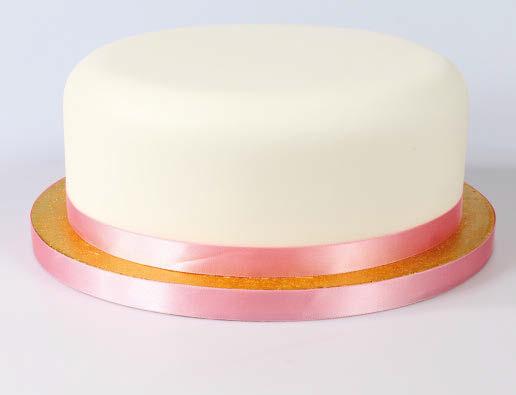 Ribbon on cake 3