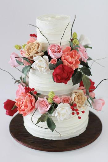 rusticgarden cake