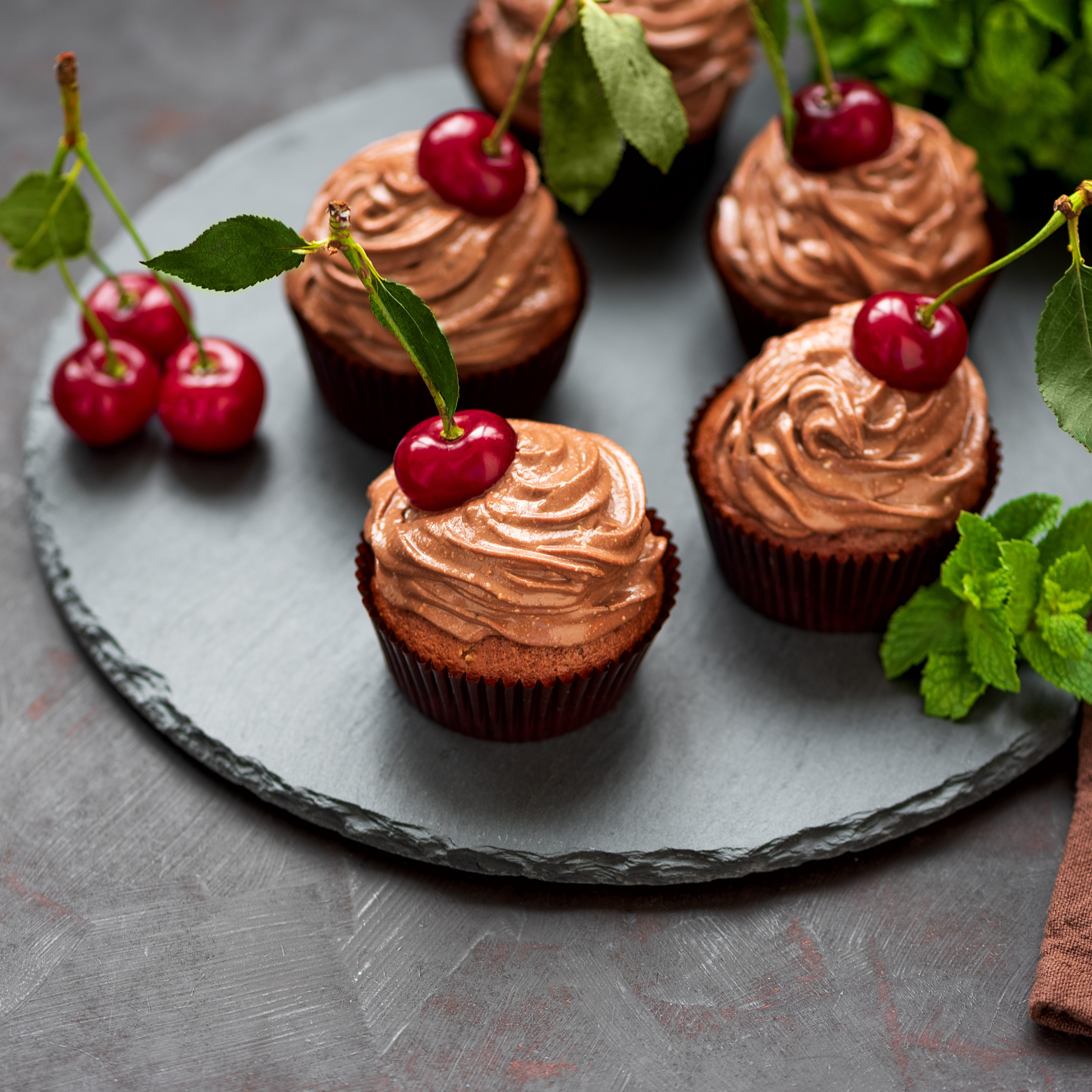 Healthy chocolate icing