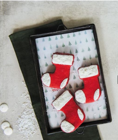 Stocking surprise cookies