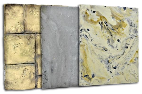 Stone sugarpaste cake textures