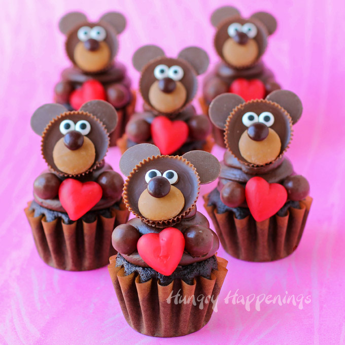 teddy-bear-cupcakes-valentines-day-cupcakes
