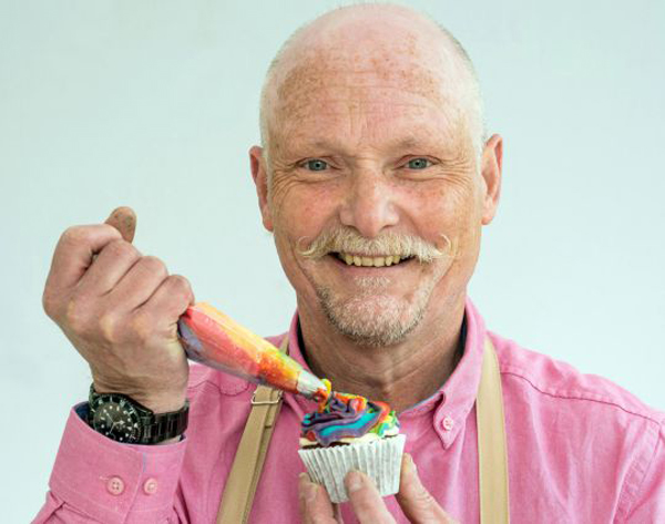 Terry - Bake Off contestant