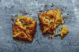 Easy tuna & egg lunchbox pasties, picnic recipes
