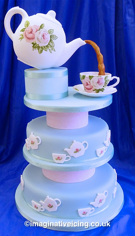 7 Afternoon Tea Party Inspired Cakes - Food Heaven