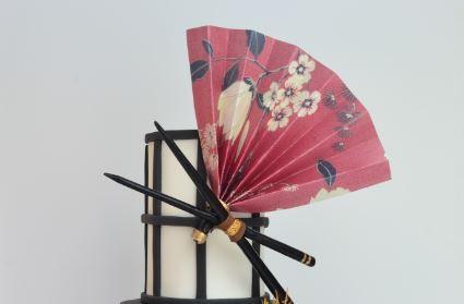 Wafer paper fan