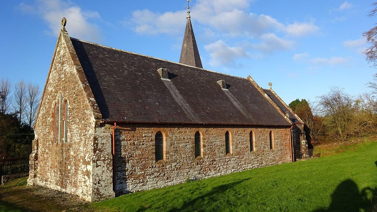 Dalton Parish Church, Rosser1954