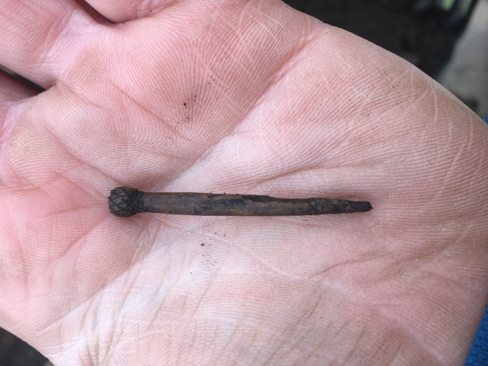 A bramble headed dress or hair pin
