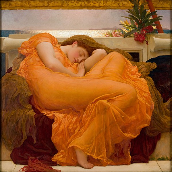 Flaming June copyright Museo Porto