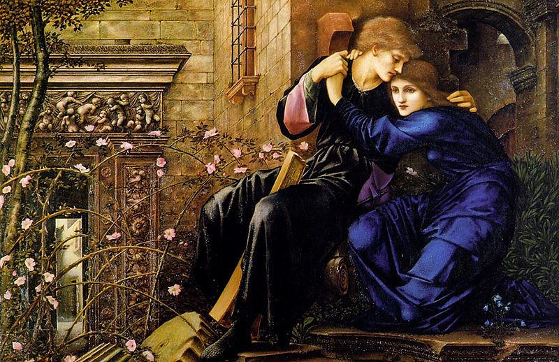 Love Among the Ruins, Edward Burns Jones