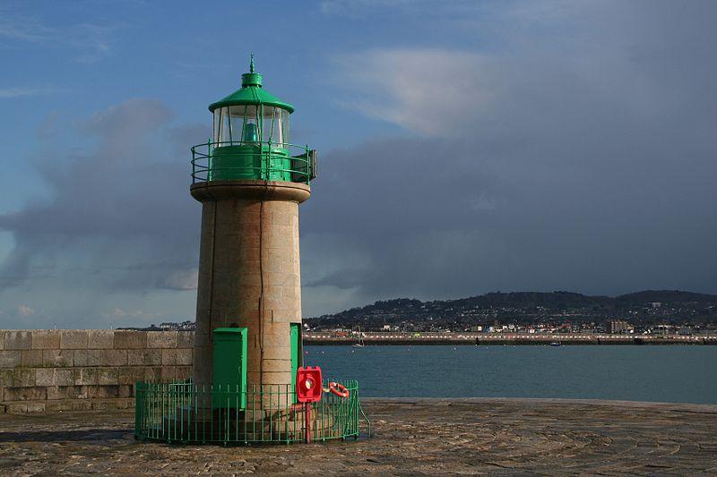 The lighthouse at Dun Loaghaire