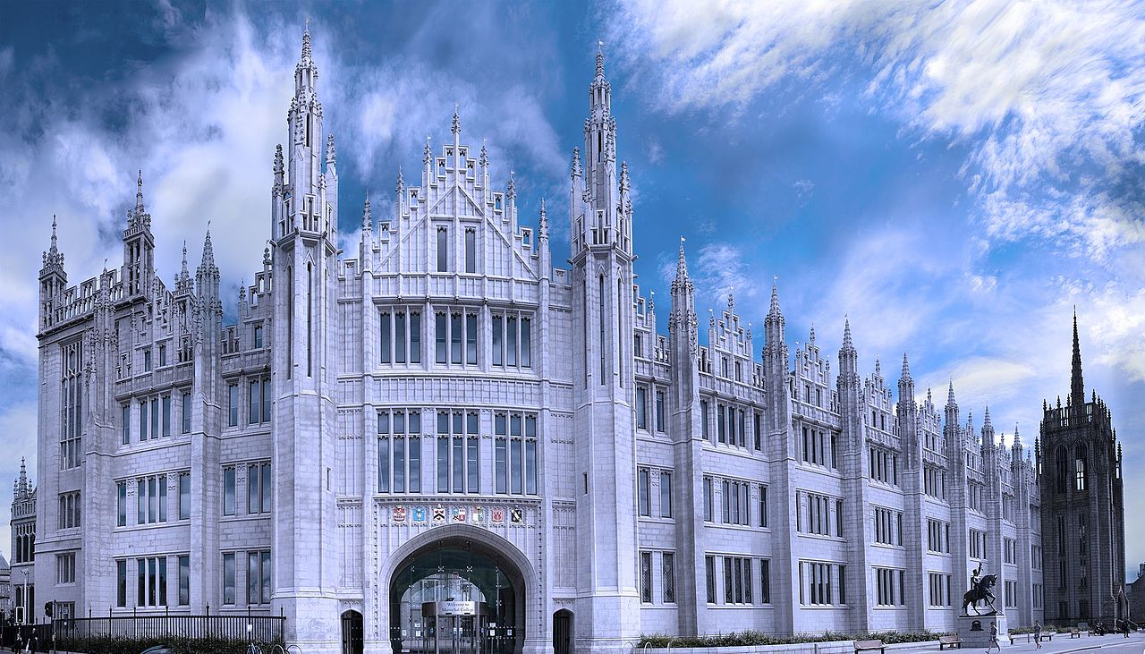 Marischal College, Aberdeen, copyright Ed McIntosh