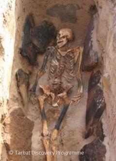 Monk cist grave, period 2