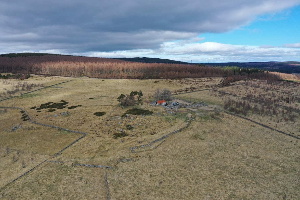 Blackmiddens aerial view