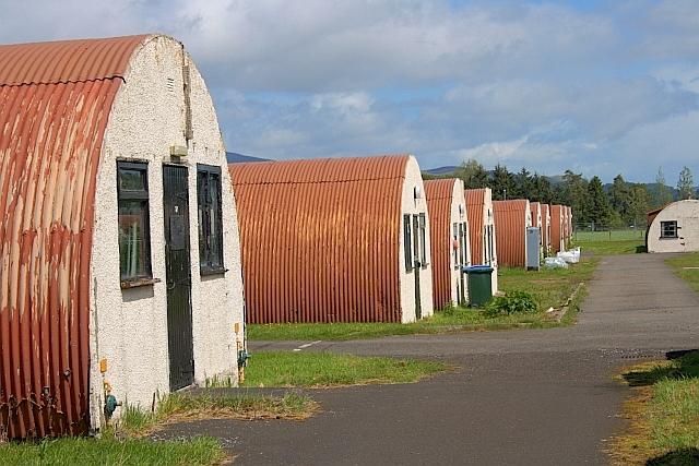 Cultybraggan POW camp, copyright Mick Garratt