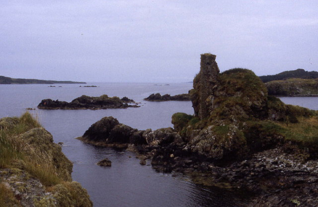 Dunyvaig Castle, Chris Heaton