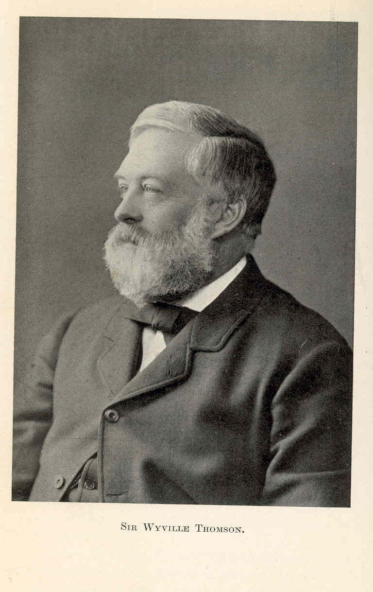 Charles Wyville Thomson, Freshwater and Marine Image Bank