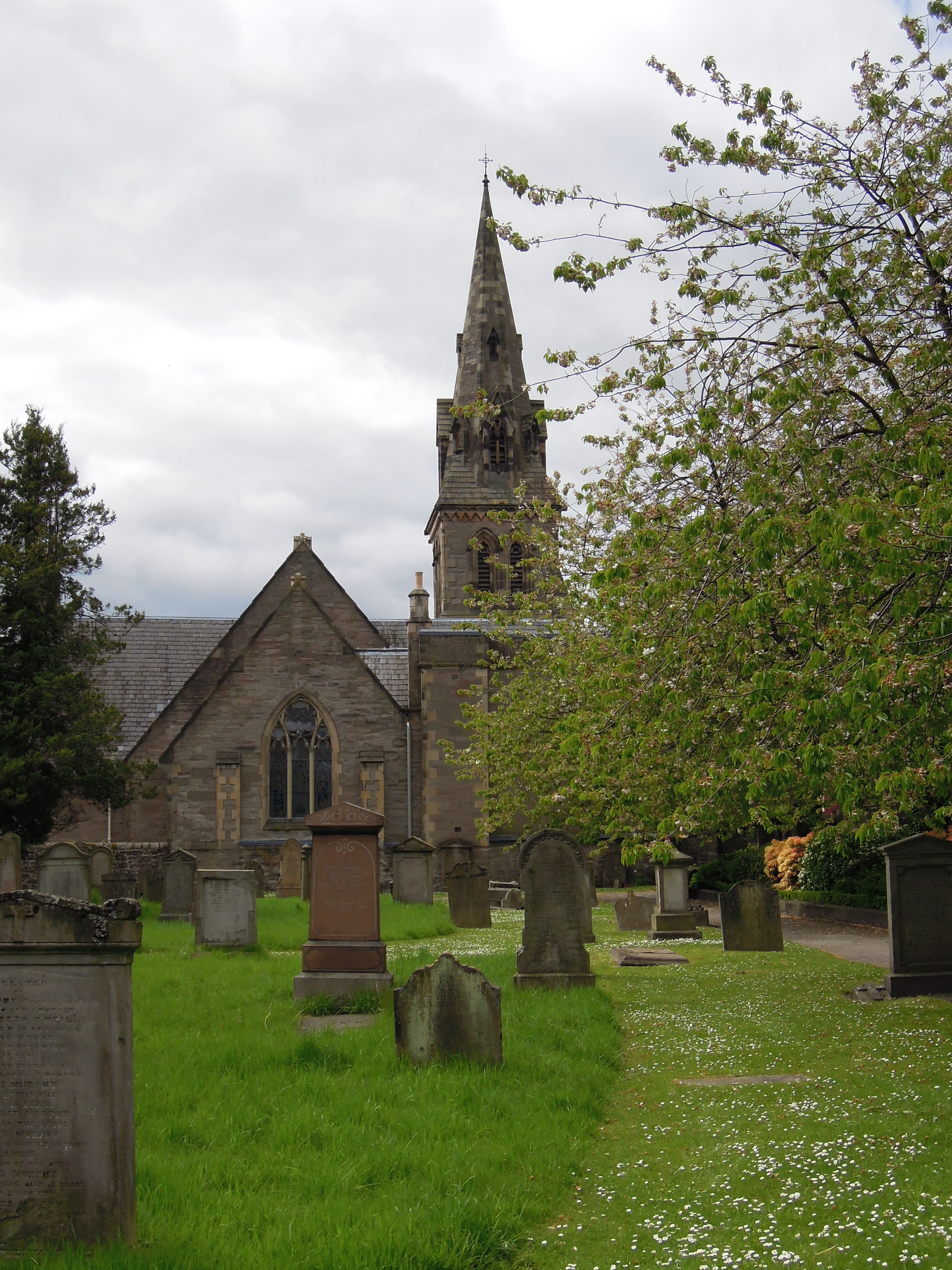 Greyfriars Burial Ground, copyright Allan Bradley