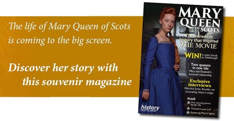 Mary Queen of Scots movie magazine