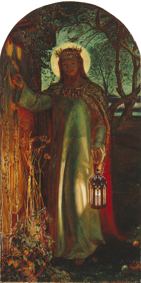 Light of the World, Holmon Hunt, copyright Manchester Art Gallery
