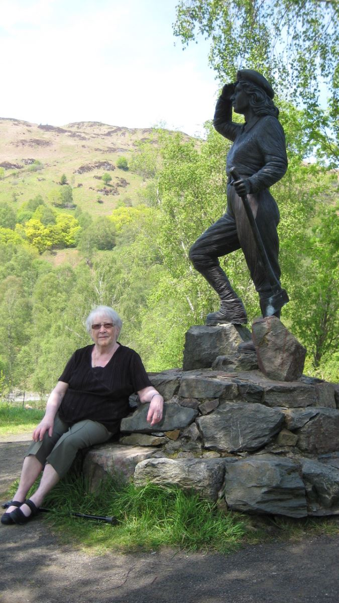 Molly Paterson at Aberfoyle