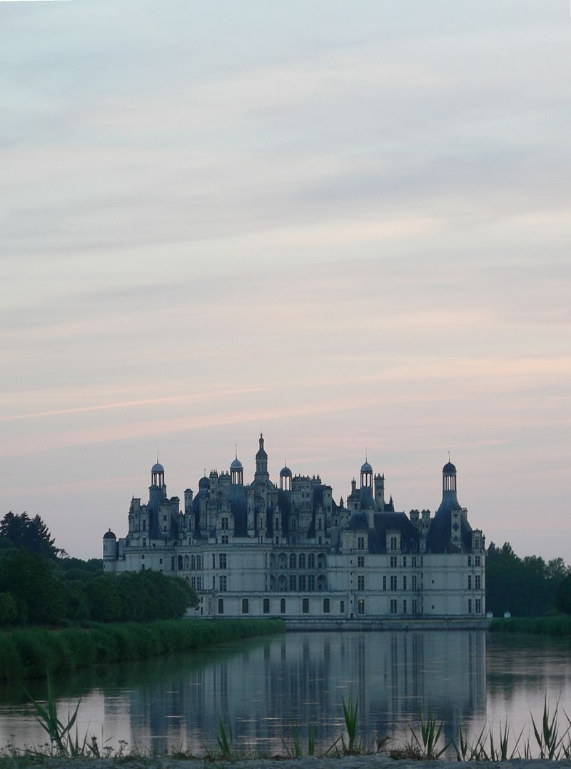 Chateau de Chambord, where Mary Queen of Scots spent part of her childhood