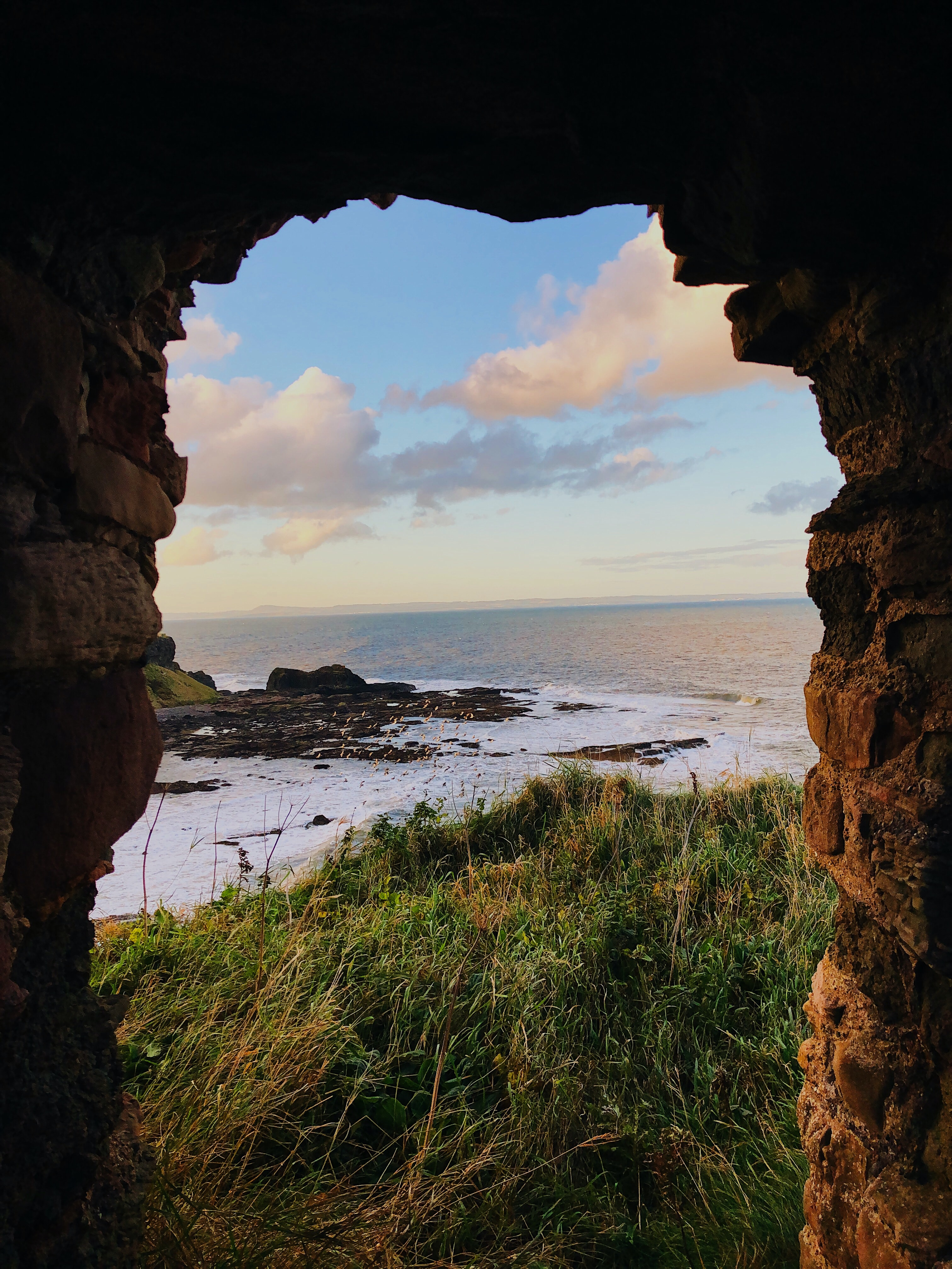 Tantallon Castle, copyright Julia Worthington