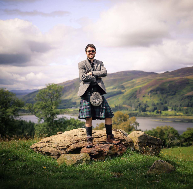 Neil Robertson - Travels With a Kilt