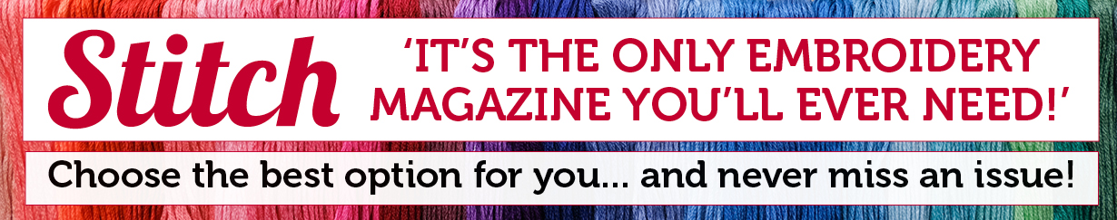 The only embroidery magazine you will need.