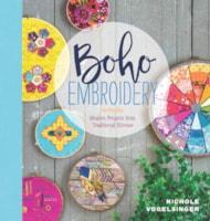 Boho Embroidery cover