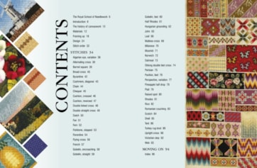RSN Essential stitch guides canvaswork spread 1