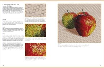 RSN Essential stitch guides canvaswork spread 2