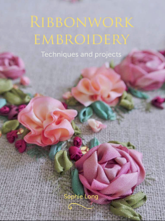 Ribbonwork Embroidery Cover
