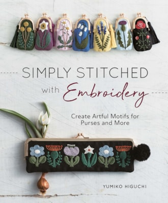 Simply Stitched with Embroidery cover